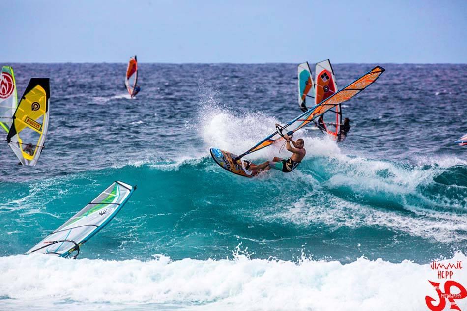 Gerry G Windsurfing Testimonial Morocco Baja, PSC