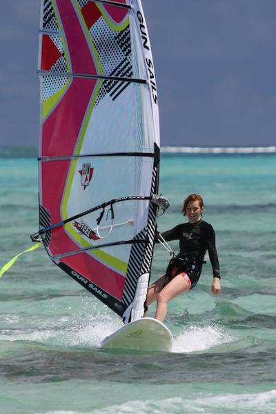 Steph Badcock (Harris)  Windsurfing Testimonial Tobago
