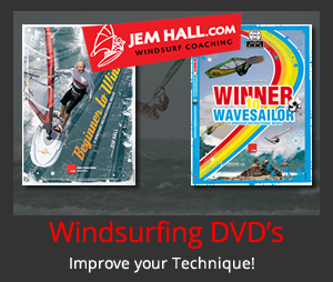 Jem Hall Windsurfing DVD's