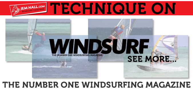 Jem Hall on Windsurf Magazine