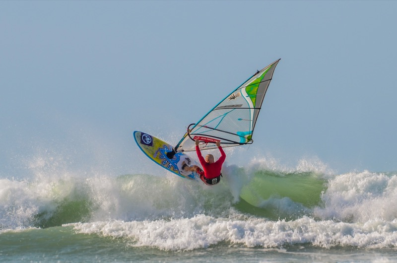 Jem Hall windsurfing Coaching